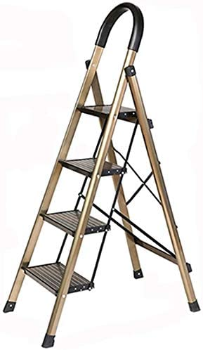 Conveniente para los varios escenarios Multiusos Escalera, antideslizante Ingeniería General Perfil plegamiento del metal Almacén Escalera del hogar Buenos materiales son la base de la escalera: Amazon.es: Hogar