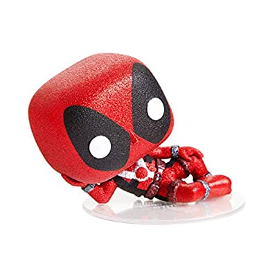 Funko POP! Diamond Collection Marvel #320 - Deadpool H.T. Exclusive Bundled with Free PET Compatible .5mm Extra Rigged Protector: Toys & Games