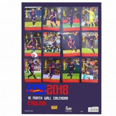 Officielle FC Barcelone Football 2018/Calendrier