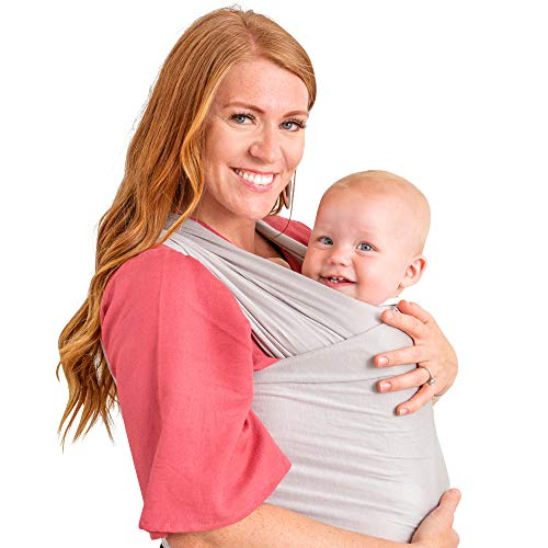 WeeSprout Baby Wrap Carrier – Perfect Baby Carrier Wrap Sling for Newborn and Infant – Enhances Baby Bonding – Soft and Breathable – Ideal for Babywearing