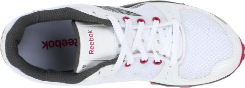 Zapatillas De Entrenamiento Transitorio Reebok Para Mujer Realflex Transition White / Rivet Grey / Pink