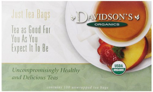 Davidson's Tea Sun, Moon and Stars, 100-Count Tea Bags