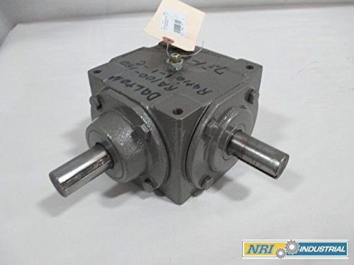 DALTON RA 100-150 WORM GEAR 1:1 GEAR DRIVE REDUCER RIGHT ANDLE D209691