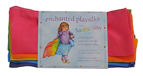 Rainbow Playsilk By Sarah's Silks
