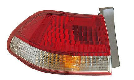 01 - 02 Honda Accord 4 Door Sedan Only Driver Taillamp Taillight 2001 2002 Honda Accord 2 Door Tail