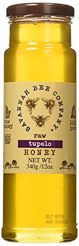 Savannah Bee Company Tupelo Honey (12 Ounce Tower Jar)