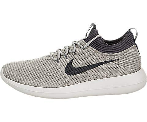 fc3a9607791a Galleon - Nike Roshe Two Flyknit V2 Pale Grey Women s Running Training Shoes  Size 6
