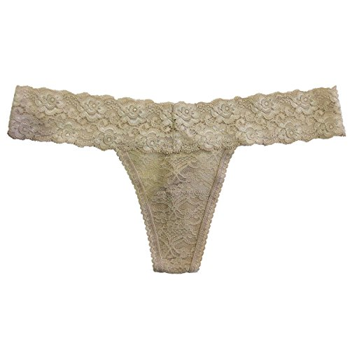 Undie Couture Lace Thong, Nude