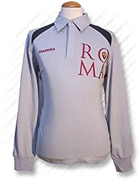 Diadora - Roma Polo M/L GR 06/07 Hombre Color: Gris Talla: L ...