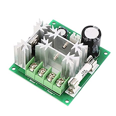 Mouchao New DC 6V-90V 15A DC Motor Speed Control PWM Switch Controller 1000W