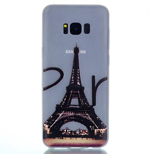 [해외]inSang 갤럭시 S8 케이스 커버 [투명 갤럭시 S8 케이스] [어둠 속의 빛나는 글로우], 편리한 백 케이스 스타일 갤럭시 S8 용 보호 커버 스킨/inShang Galaxy S8 case Cover [Transparent Galaxy S8 case] [Luminous Glow in the Dark], Convenient B...