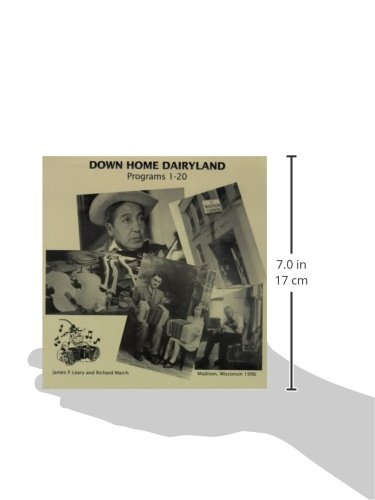 Down Home Dairyland Recordings by University of Wisconsin Press