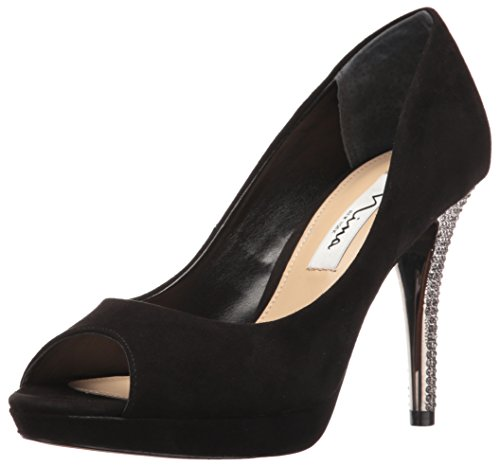 Nina Womens Faiza Dress Pump Black