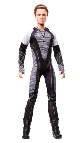 Barbie Collector The Hunger Games: Catching Fire Peeta Mellark Doll]()