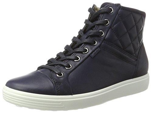 Blu 7 cielo Soft alte Sneakers Donna Ecco notturno 1XqFnwH