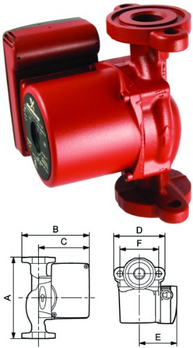 Grundfos 52722373 Single Phase Circulating Pump by Grundfos