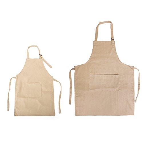 chef apron khaki - 1