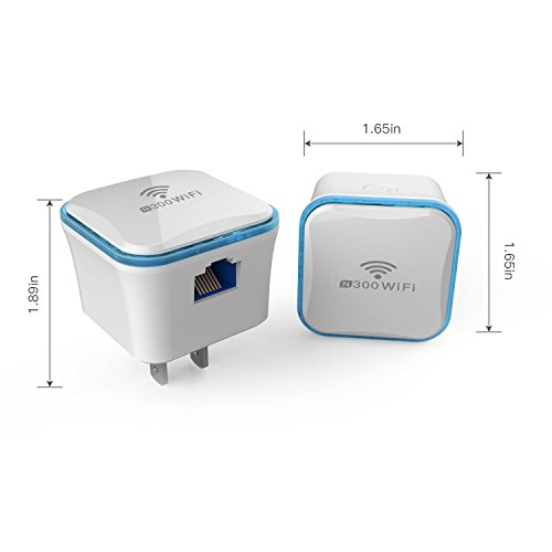 meross Wi-Fi Range Extender 300Mbps Wireless Repeater, WiFi