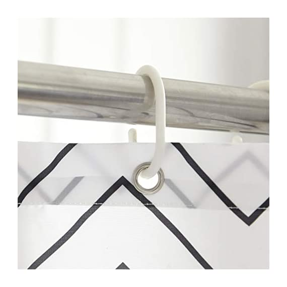 LAOBANNIANG Simple Ribbed Shower Curtain Fabric for Bathroom,Waterproof and Thickened 72 x 72 inches-White - Material:Polyester,Heavy Lead Drop at Bottom to ensure no flutter and non stick PREMIUM QUALITY: The tight weave of the fabric, and superior quality of the polyester yarns provide this curtain with a firm, ensuring opacitys ,mooth texture, which promotes water bead formation and is made to withstand damp, moisture rich bathroom environments; Drapes beautifully for a clean fresh look in your bathroom and has a soft hand feel REINFORCED BUTTON HOLES: Reinforced stainless steel button holes ;Top hem is reinforced to hold up to long term use; This shower curtain is perfect for anyone wanting to add some fun and whimsy to their shower - use at home, apartment, condo, hotel, camper, RV, dorm room, school show, athletic club, gym and everywhere else ,you need a reliable shower curtain - shower-curtains, bathroom-linens, bathroom - 41czYPBdvTL. SS570  -