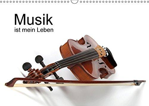 Musik ist mein Leben / CH-Version (Wandkalender 2017 DIN A3 quer): Verschiedene Musikinstrumente (Monatskalender, 14 Seiten ) (CALVENDO Hobbys)