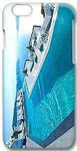 Hard Plastic iPhone 6 Case, Fate Inn-Luxury Swimming Pool-iPhone 6 case