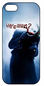 """Joker Glass """"Foggy Why So Serious"""", Y-5166 iPhone 5 / 5s Case, Plastic Case, Cover, Snap, Case"""