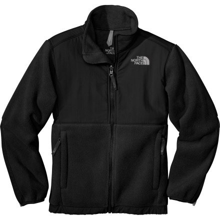 New Girls North Face Denali Fleece Jacket Black S (Jacket Denali Fleece Girls)