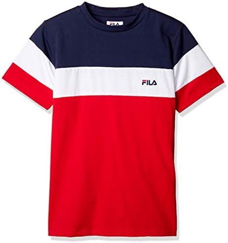 FITNESS M トップス MVS天竺 半袖ブロック切替Tシャツ メンズ