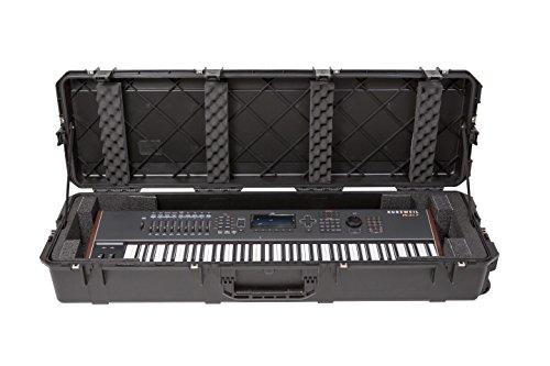 SKB 3i-5616-KBD Piano or Keyboard Case, Black by SKB
