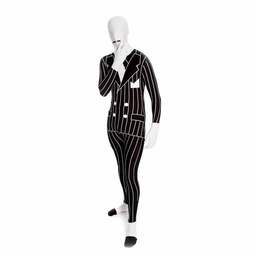 "[Gangster Morphsuit Costume - size XXLarge - 6""2-6""9 (186cm-206cm)] (Us Olympic Costume)"