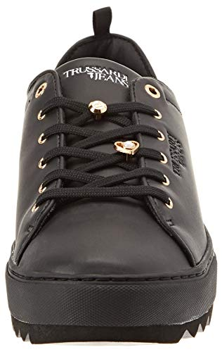 Noir Chaussures de K299 Gymnastique Nero Jeans Faux Trussardi Sneakers Pearls Femme Pins and YFRvTq
