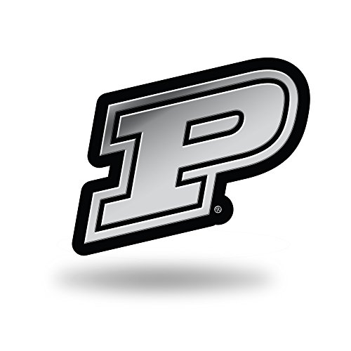 Rico Industries NCAA Purdue Boilermakers Chrome Finished Auto Emblem 3D Sticker