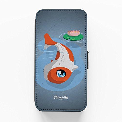 Kawaii PotsuPotsu Hochwertige PU-Lederimitat Hülle, Schutzhülle Hardcover Flip Case für iPhone 6 Plus / 6 Plus vom DevilleArt + wird mit KOSTENLOSER klarer Displayschutzfolie geliefert