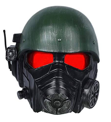 xcoser Veteran Ranger Helmet Resin Fallout Mask Halloween Cosplay Costume Accessory Prop]()