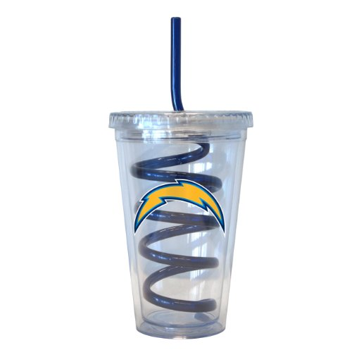 San Diego Chargers Travel Tumbler - 8