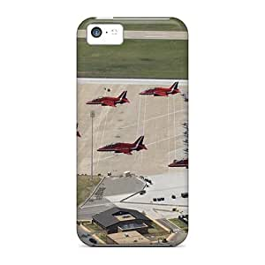 High-end Case Cover Protector For Iphone 5c(red Arrows)