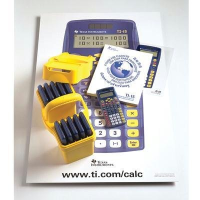 Math Explorer - TI 15 Explorer Calculator Teacher Kit 10 Count