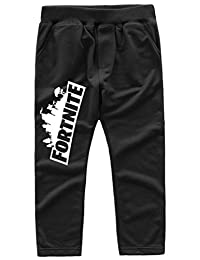 Imilan Kid's Active Pants Full Length Trousers Sweatpants for Boys Girls Sportswear