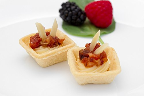 Creamy Brie Canapes - Gourmet Frozen Appetizers (50 Piece Tray)