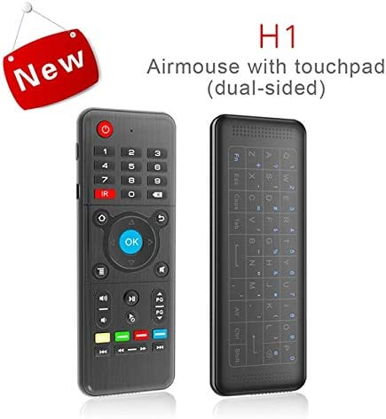 Color: Without Backlight Calvas 3 in 1 Smart Remote Control Full Touchpad Keyboard Wireless Air Mouse For STB For Android Windows Mac OS Linux Systems