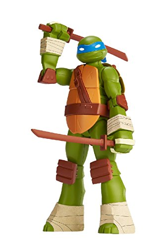 Level 1 Bandai America Incorporated 35811 SpruKits Teenage Mutant Ninja Turtles Leonardo Action Figure Model Kit