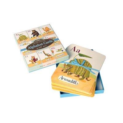 Alphabet Cards: Animal Parade Wall (Eeboo Wall Cards)