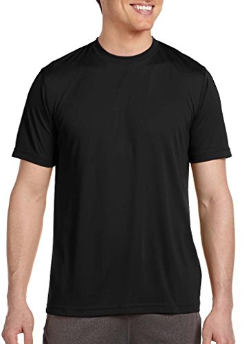 YogaColors Men's Short Sleeve Active Workout T-Shirt Tee