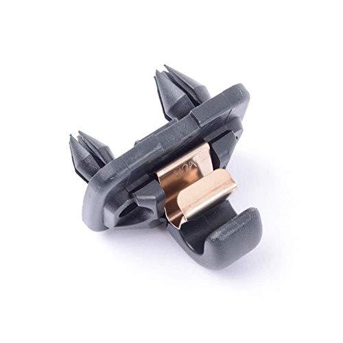 AUDI Genuine A4 A3 A5 TT Interior Sun Visor Hook Clip Soul Black Bracket