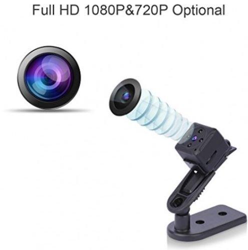 Amazon.com : Camaras Espias Ocultas Mini Vision Noche Detector Movimiento Portatil : Camera & Photo