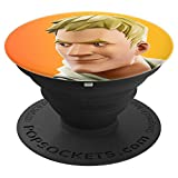 Fortnite Jonesy (Orange) PopSockets Stand for Smartphones and Tablets - PopSockets Grip and Stand for Phones and Tablets