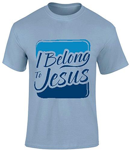 SuperPraise Christian Jesus Bible Gospel Scripture Slogan T Shirts I Belong to Jesus by SuperPraise