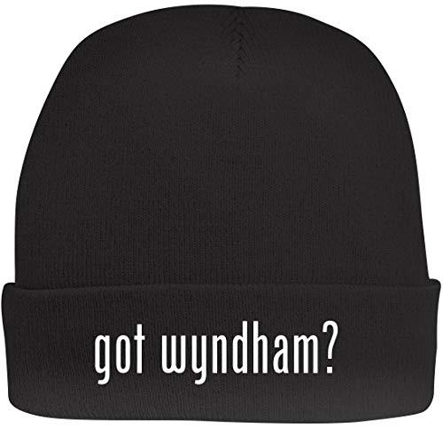 Shirt Me Up got Wyndham? - A Nice Beanie Cap, Black, OSFA