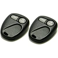 Pair of OEM Electronic GM 2-Button Keyless Entry Remote (FCC ID: ABO1502T / P/N: 16245100-29, 16245102)