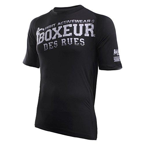 Série Rues Fight Noir Boxeur Homme Activewear T Des shirt T wCqE5f